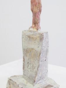 """""""Am Plateu"""" 12.5.7 cm Keramik glasiert 2016"""
