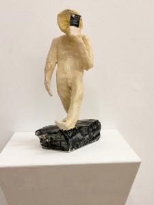 """selfmademan"" 10.5.5 cm Keramik glasiert 2016"