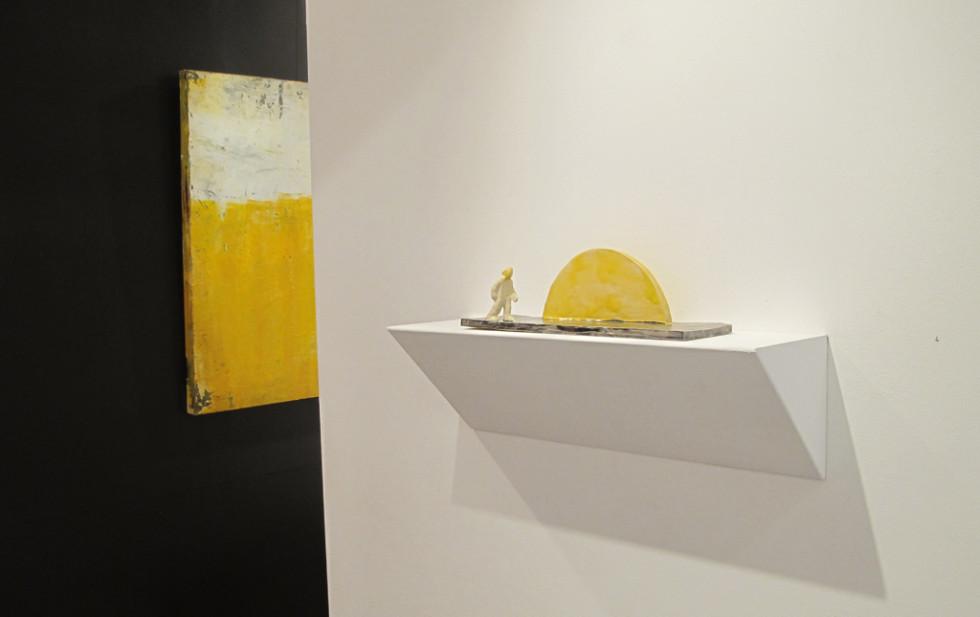Ausstellungs ansicht Galerie Gans 2017